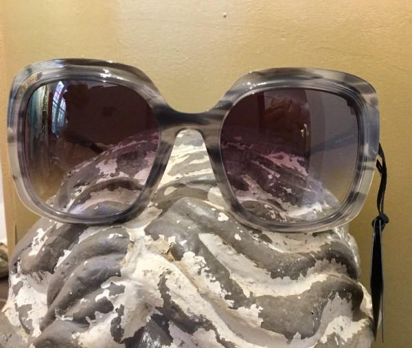 Acetate Sonnenbrille grau