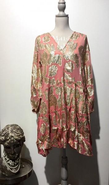 Boho-Kleid pink