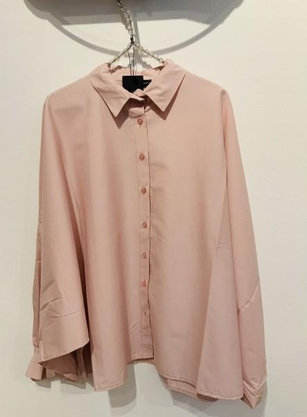 Bluse Fledermaus rosé