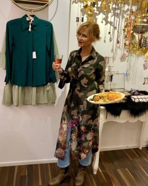 Harper Dress Camouflage