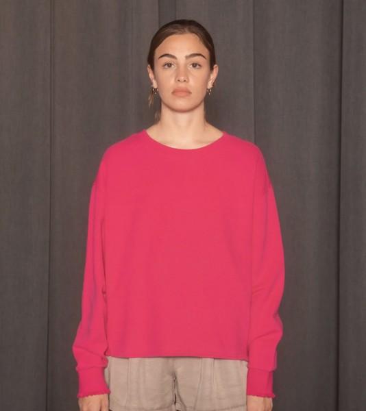 Sweatshirt Love Joy Victory pink