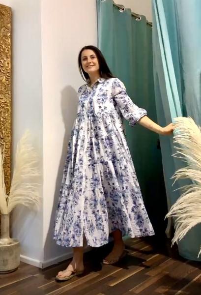 LOVE JOY VICTORY Kleid blau
