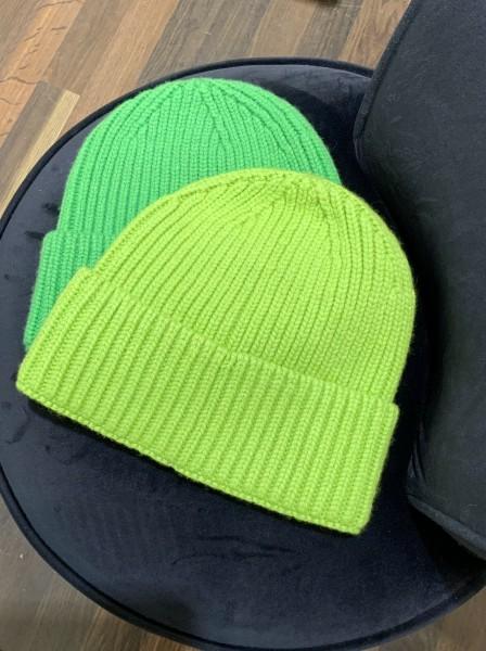 UNIO Mütze Apfelgrün