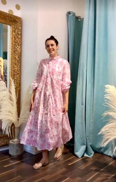 LOVE JOY VICTORY Kleid rosarot