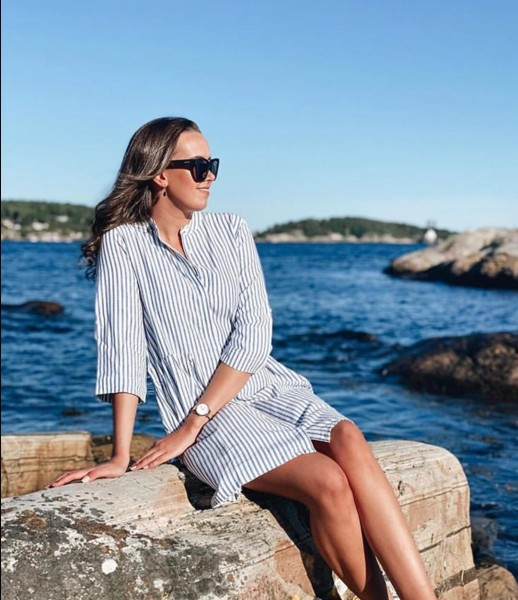 Sommerkleid Diana Stripe