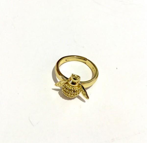 Gold Ring Biene kein