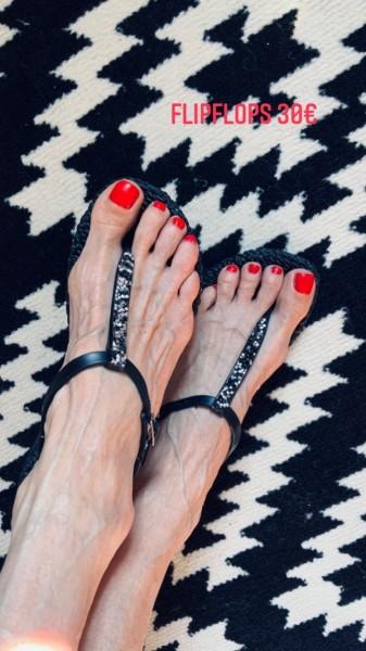 Flipflop Sandale schwarz